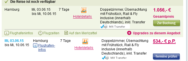 Screenshot 5vorFlug Angebot Dubai Holiday Inn Bur Dubai, VAE - Embassy District12.3.15