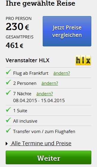 Screenshot Hlx.com Türkische Riviera,  Alanya All-Inclusive Strandurlaub im 3 Sterne Bonapart Sealine Hotel 25.3.15