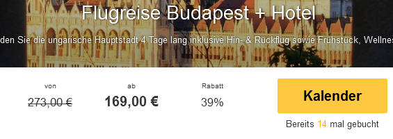 Screenshot Travelbird Urlaub in Budapest 28.3.15