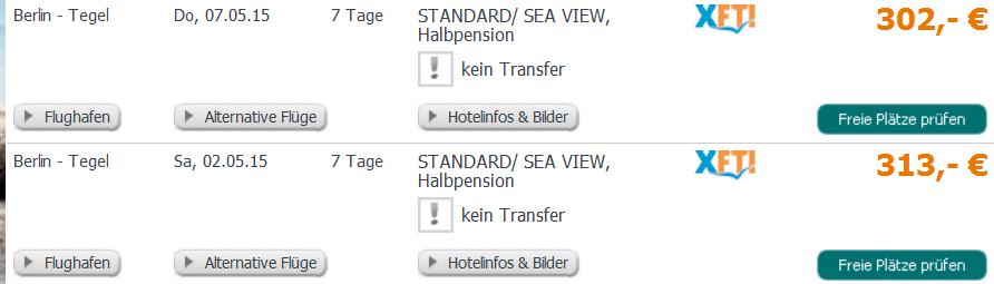 Screenshot Tropo Angebot Intertur Hotel Miami Ibiza 9.3.15