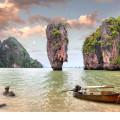Sehenswürdigkeiten in Phuket, James Bond Island, Phang Nga Bay