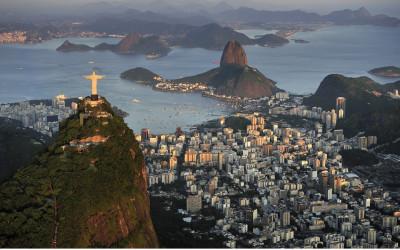 Urlaub in Rio de Janeiro: Panoramablick - Christus Statue, Zuckerhut, Guanabara Bay
