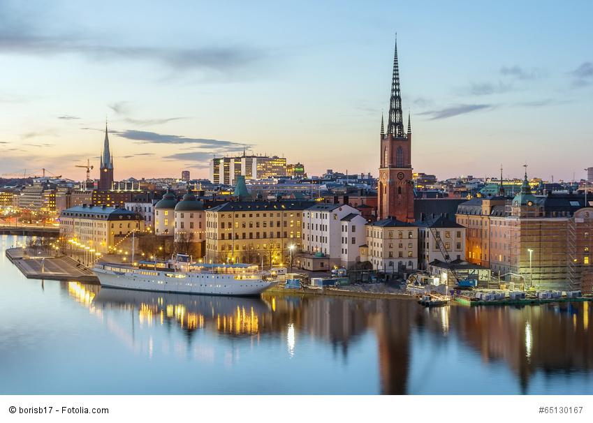 Aufgenommen wärhend einem Urlaub in Stockholm, Riddarholmen