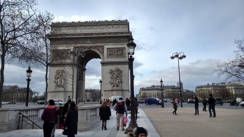 Triumphbogen in Paris