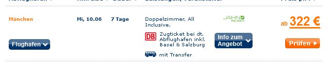 Screenshot TravelScout24 Angebot 7 Tage All-Inclusive Urlaub auf Teneriffa inklusive Transfer, Flügen und 4 Sterne Hotel El Tope 6.4.15