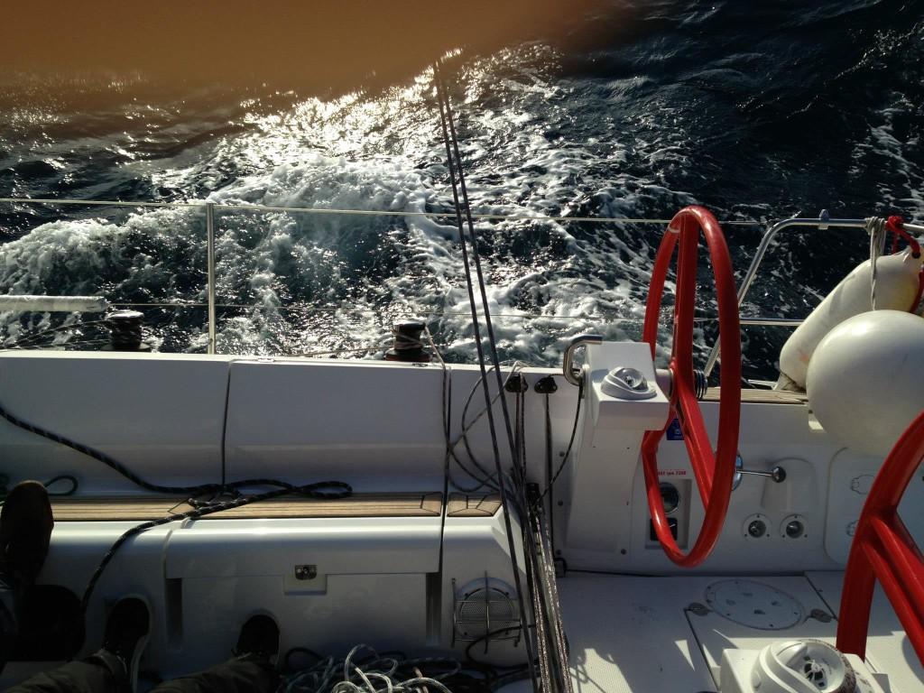 Bild eines Segelschiffs in Kroatien