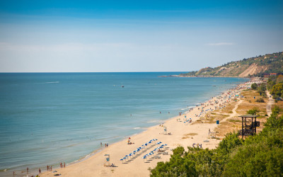 Urlaub am Goldstrand in Bulgarien