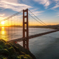 Urlaub in San Francisco, Golden Gate Bridge
