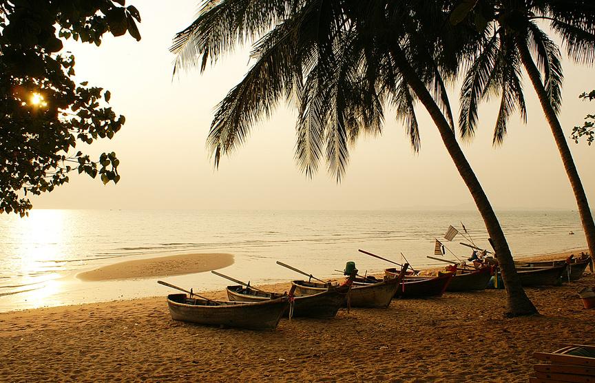 Strand von Pattaya, Jomtien