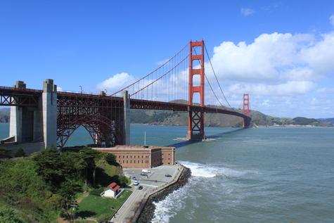 Foto der Golden Gate Bridge in San Francisco