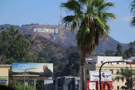 Hollywood Schriftzug in Los Angeles Kalifornien