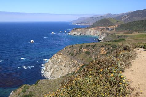 Die Westküste der USA am Pazifik Highway Nr. 1 California State Route