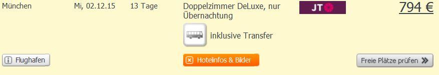 Screenshot Angebot Weg.de 13 Tage Urlaub in Patong Beach im 3 Sterne Hotel inklusive Transfer und Flügen um nur 794€ 26.5.15