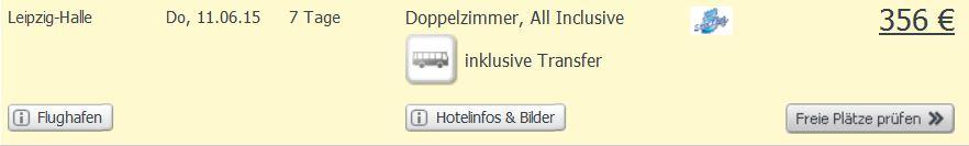 Screenshot Weg.de Angebot 5 Sterne All-Inclusive Urlaub in Hurghada um nur 356€ pro Person im Doppelzimmer. 28.5.15