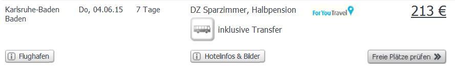 Screenshot Weg.de Angebot Eine Woche Urlaub in Kemer, 3 Sterne Hotel Felice, inklusive Halbpension, Flügen und Transfer 16.5.15