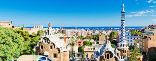 Park Guell, aufgenommen bei einem Urlaub in Barcelona