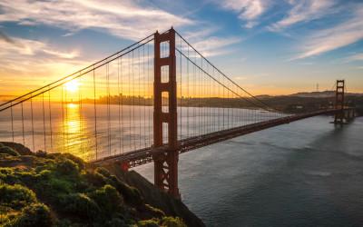 Urlaub in San Francisco, Golden Gate Bridge
