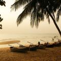 Sonnenuntergang in Thailand am Strand von Pattaya - Jomtien