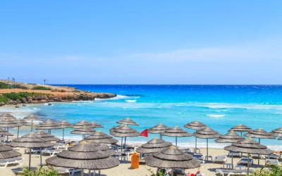 Reisen nach Zypern, Nissi Strand in Aiya Napa