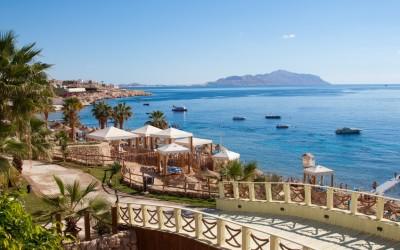 Bild des Roten Meeres, aufgenommen bei einem Urlaub in Hurghada